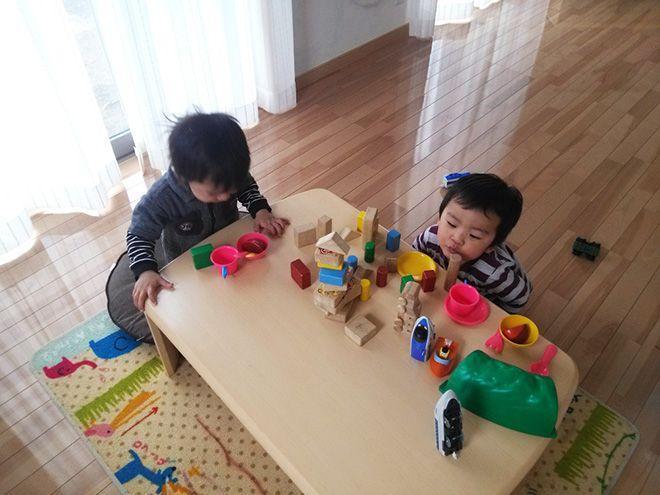 マイホームが完成し、お子様をのびのびと遊ばせることができるようになったというKさん。「元気過ぎて、UVコーディングを施した床がえぐれてしまったり、壁紙をボロボロにしたりしてしまうことも(苦笑)。それでも、怒らずに暮らせるのが一番ですね」。