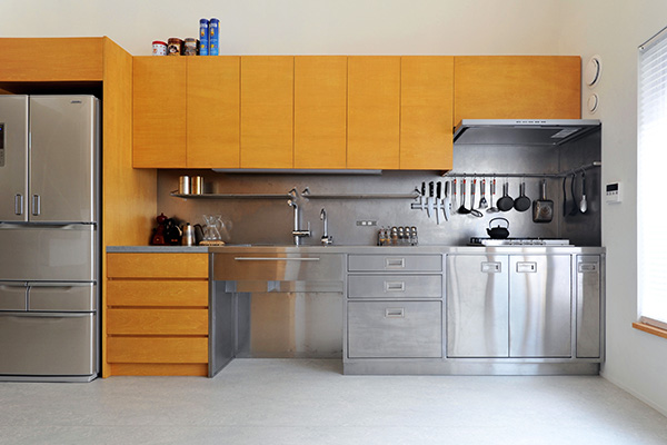 オープン型(壁付)キッチン