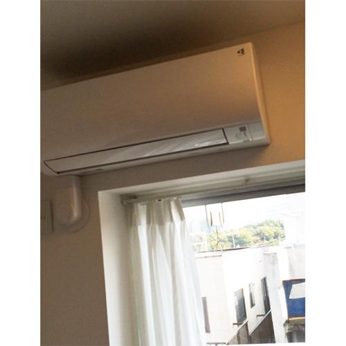 アパート時代には古いエアコンを使用していたというSさん。新居には3基のエアコンが設置されていたそう。「購入にはまとまった金額が必要なのでラッキーでした。物件を購入した決め手の一つだったかもしれません」。